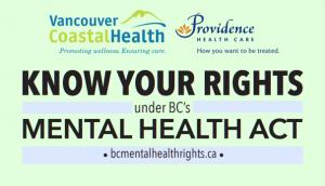 Vancouver Coastal Health branded version of the wallet card