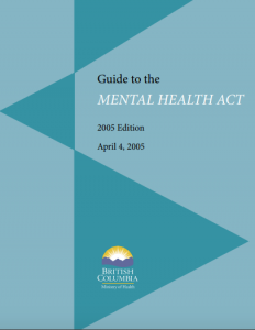Cover of the 2005 edition of the Guide to the Mental Health Act